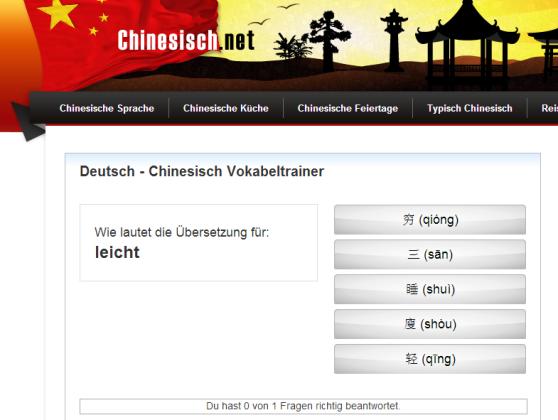 Deutsch Chinesisch – Chinesisch.net